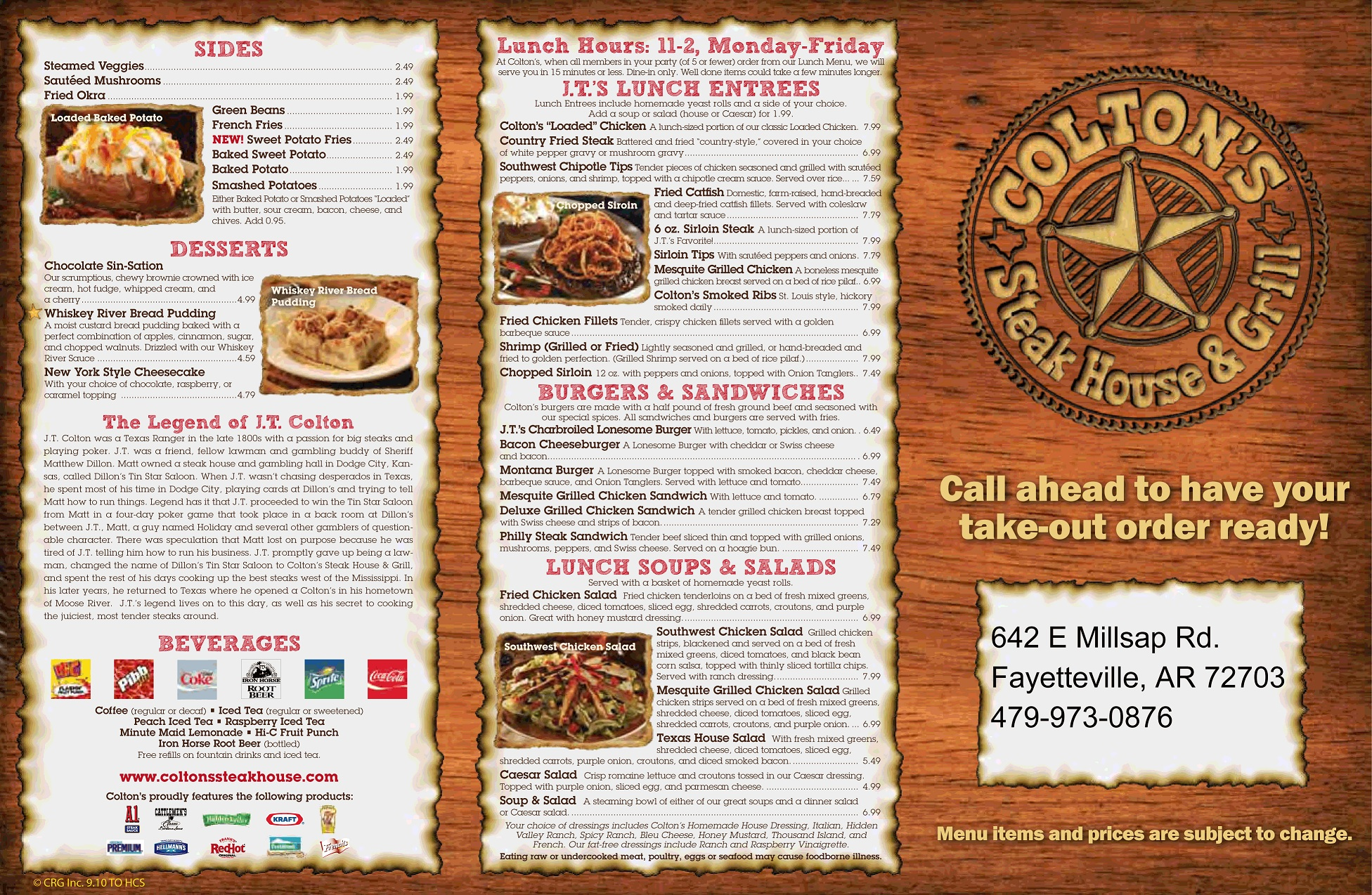 Coltons coupon